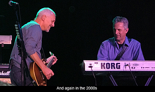Peter Frampton and Arthur Stead in the 2000s